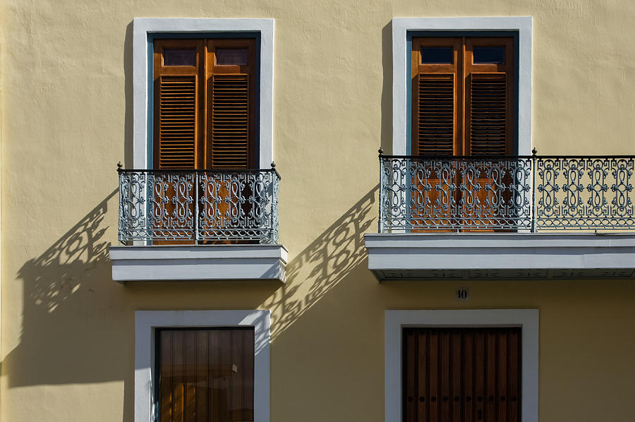 Sophisticated Wrought Iron Shadows The Beautiful Colonial