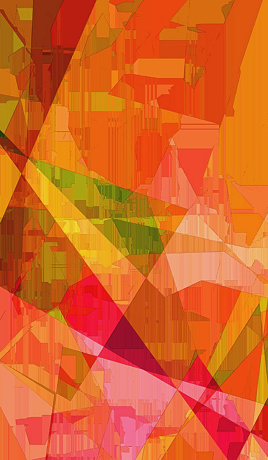 Abstract Digital Art - Sorbet by Wendy J St Christopher