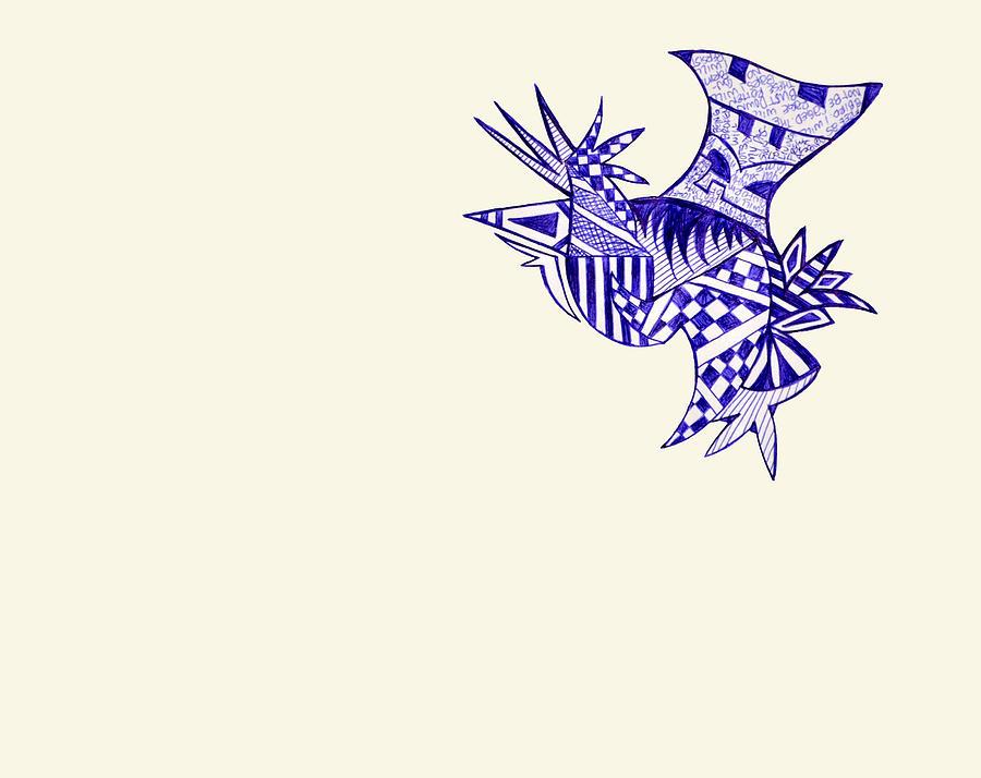 Bird Mixed Media - Sore by Leah Chyma