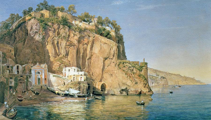 Sorrento Painting - Sorrento by Emanuel Stockler