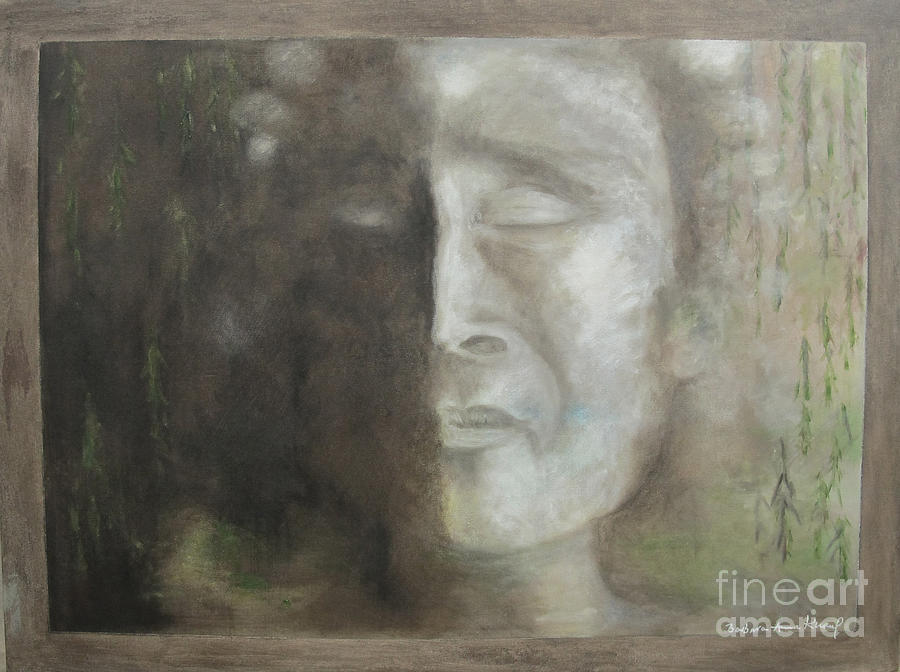 Mother Earth Painting - Sorrow by Barbara Anna Knauf