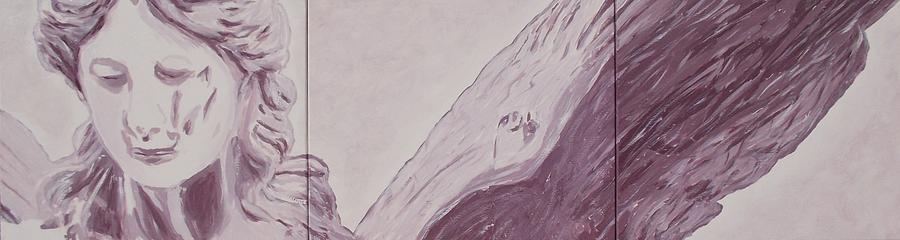 Angel Painting - Sorrow by Kelvin Kelley