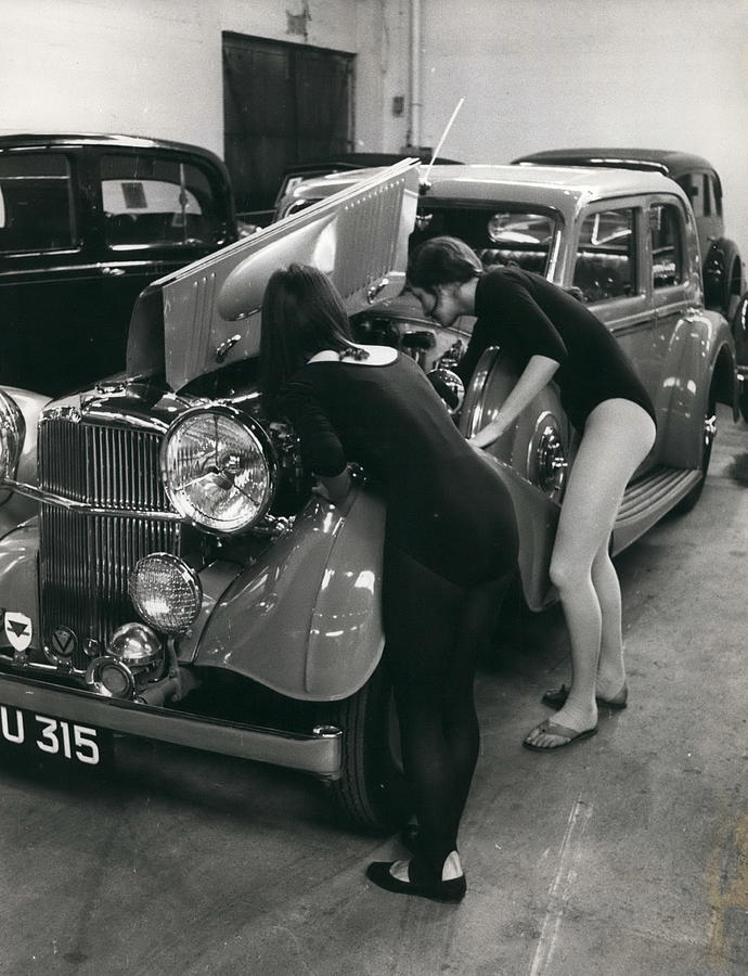 Sotheby\'s To Hold Veteran Car Sale. Photograph by Retro Images Archive