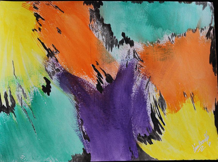 Watercolor Painting - Soul Patch by Gina Bonelli
