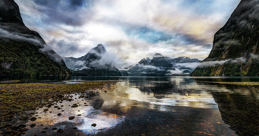 Sound Asleep | Fiordland, New Zealand Photograph by Copyright Lorenzo Montezemolo