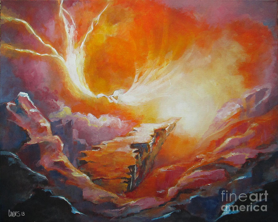 Heaven Painting - Sound Of Heaven by Tamer and Cindy Elsharouni