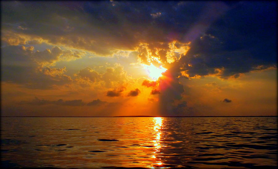 Sunsets Photograph - Sounds Of Silence by Karen Wiles