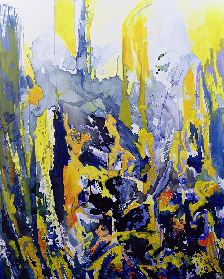 Abstract Expressionism Painting - Sounds So Soothing by Thomas Hampton