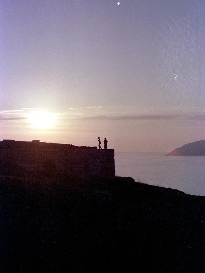 Temple Photograph - Sounion Greece by Mike McCool