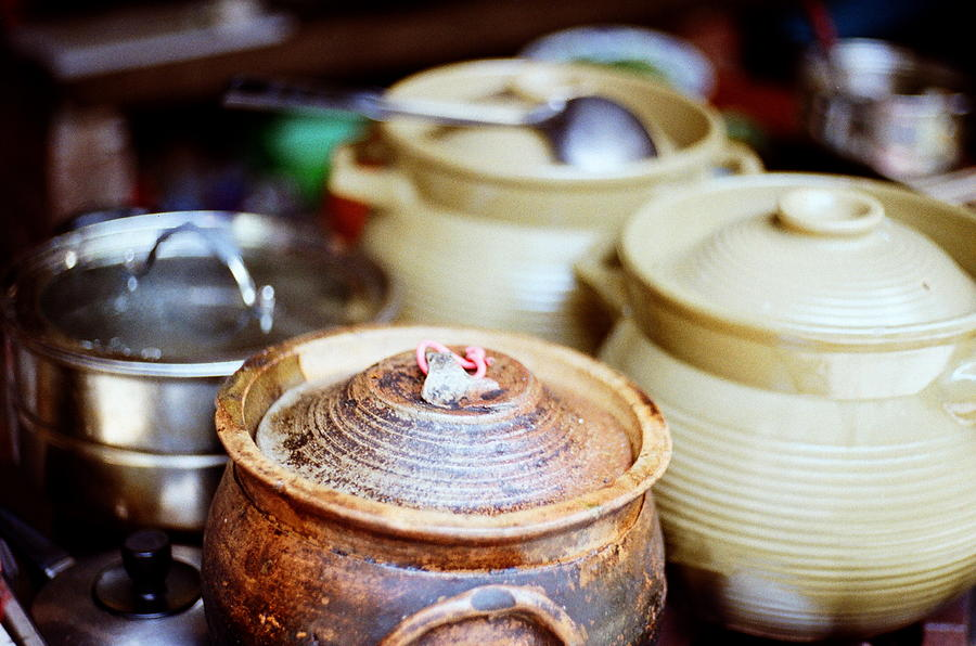 Soup In Cocotte Photograph by @ Bing Yan