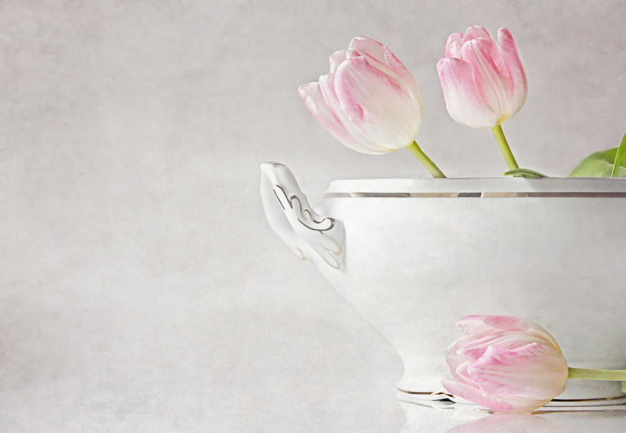 Tulips Photograph - Soup Of Tulips by Claudia Moeckel