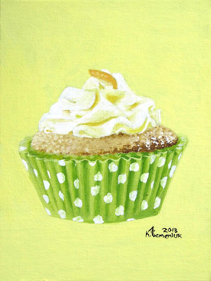 Cupcake Painting - Sour Harmony by Kayleigh Semeniuk
