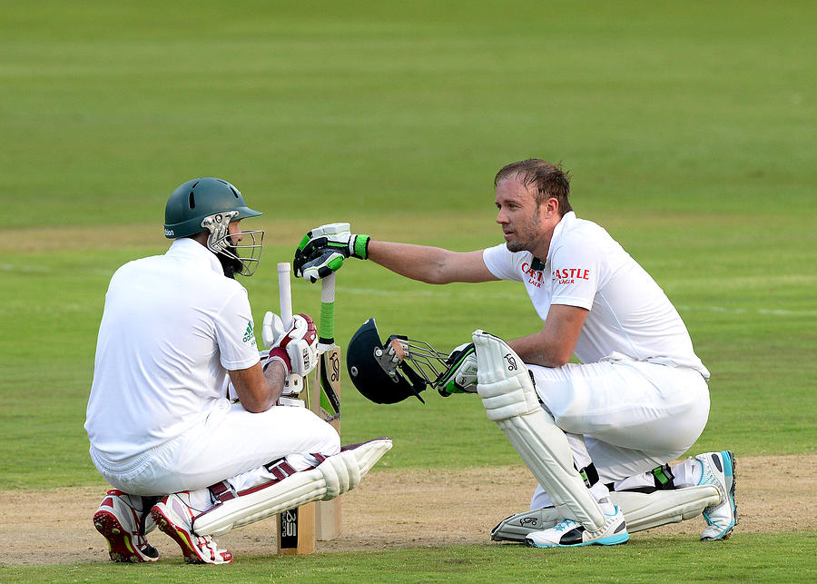 South Africa v West Indies - 1st Test Photograph by Gallo Images