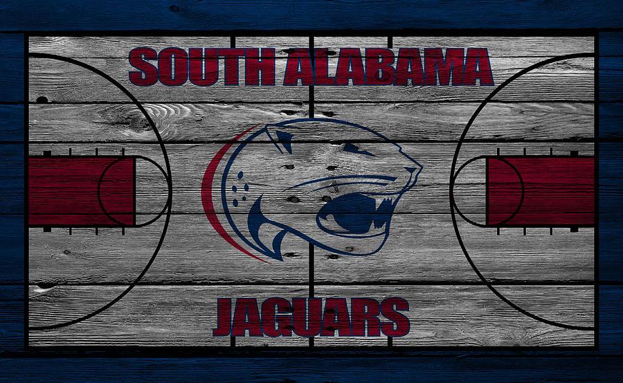Jaguars Photograph - South Alabama Jaguars by Joe Hamilton