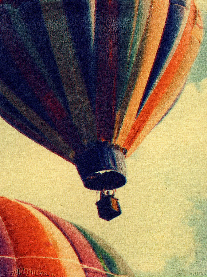 Hot Air Balloons Photograph - South By Southwest by Garry McMichael