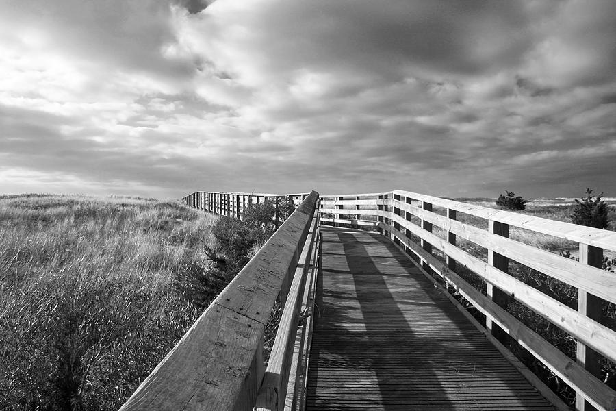 Cape Cod Photograph - South Cape Beach Boardwalk by Brooke T Ryan