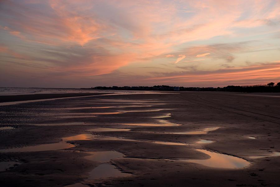 Sunset Photograph - South Carolina Sunset by Jessica Wakefield