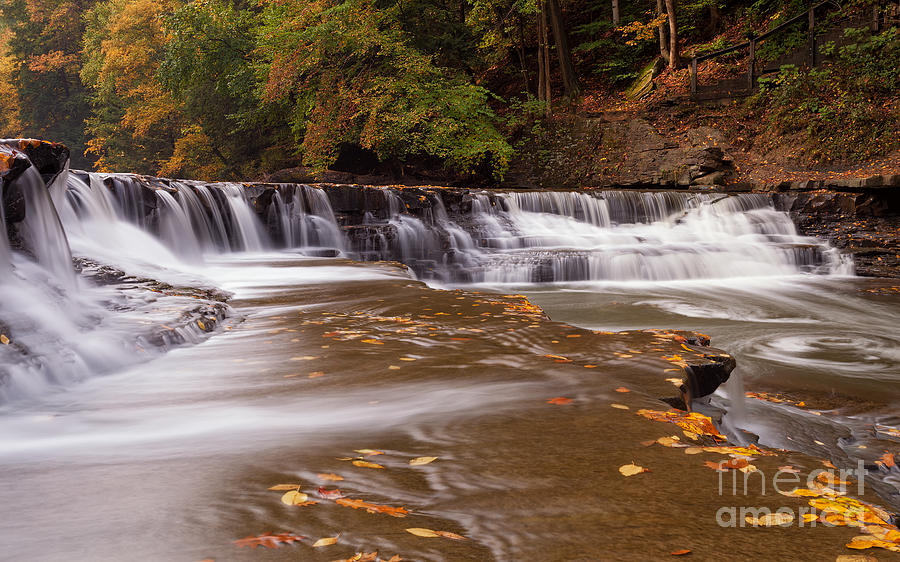 Autumn Photograph - South Chagrin River by Joshua Clark