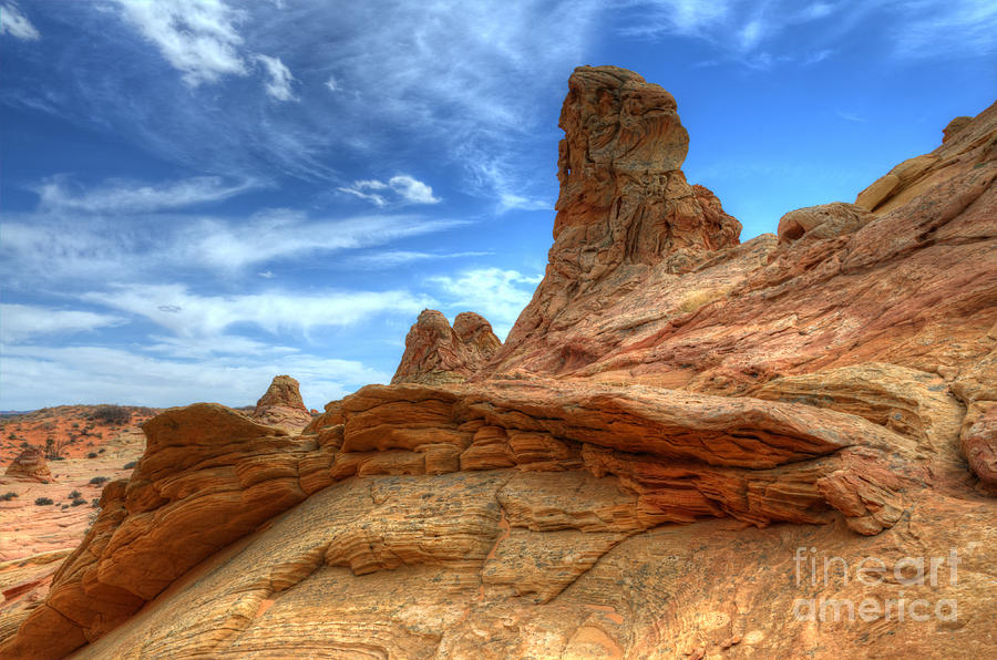 Rock Photograph - South Coyotte Buttes 8 by Bob Christopher