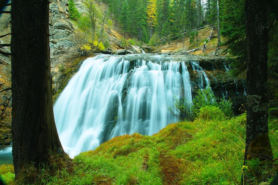 Waterfall Photograph - South Fork Falls  by Jeff Swan