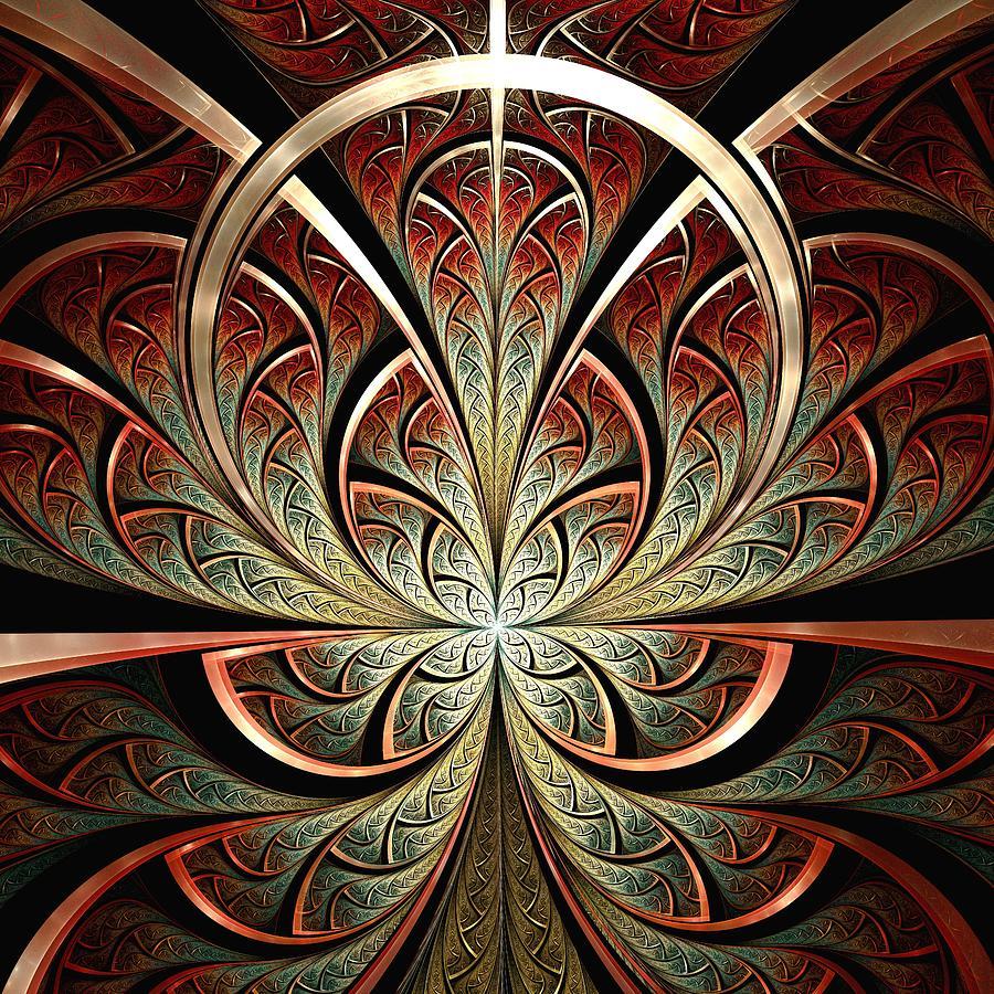 Malakhova Digital Art - South Gates by Anastasiya Malakhova