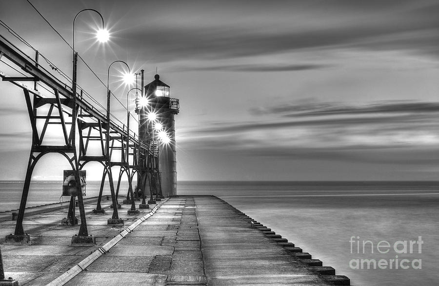 South Haven Photograph - South Haven Lighthouse by Twenty Two North Photography