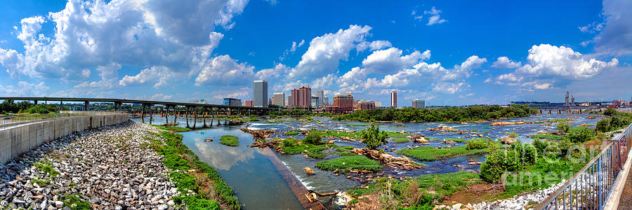 Richmond Photograph - South Of The Rivah by Tim Wilson