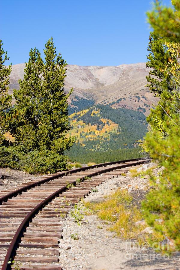 South Park Railroad Photograph