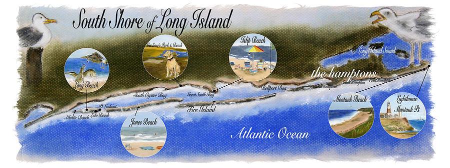 South Shore of Long Island by Barbara Gulotta