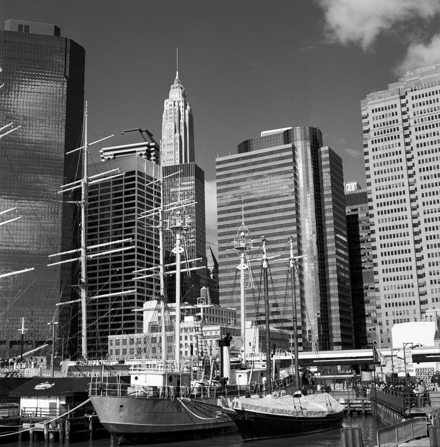 New York Photograph - South Street Seaport by Carla P White