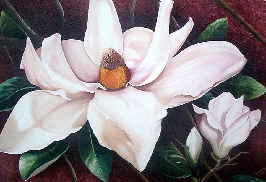 Southern Beauty Painting by Karin  Dawn Kelshall- Best