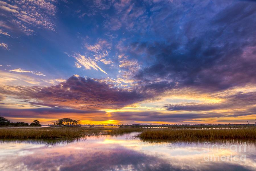 Sunrise Photograph - Southern Beauty by Matthew Trudeau