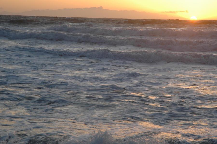 Ocean Photograph - Southern California by Bobbi Bennett