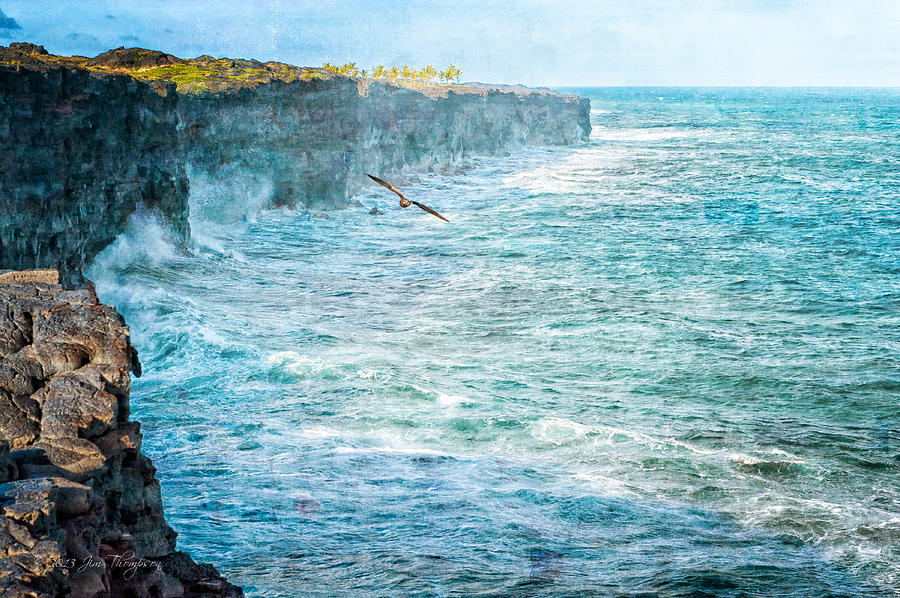 Cliffs Photograph - Southern Cliffs by Jim Thompson