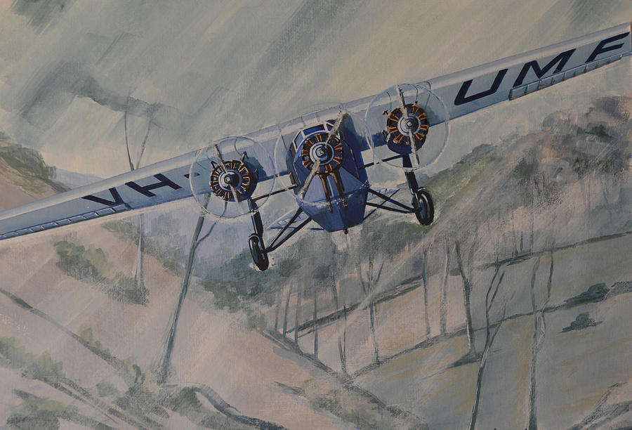 Southern Cloud VH-UMF by Murray McLeod