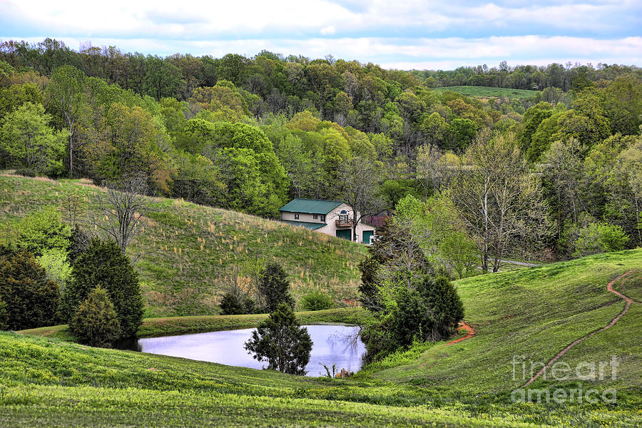Tennessee Photograph - Southern Landscapes IIi by Chuck Kuhn
