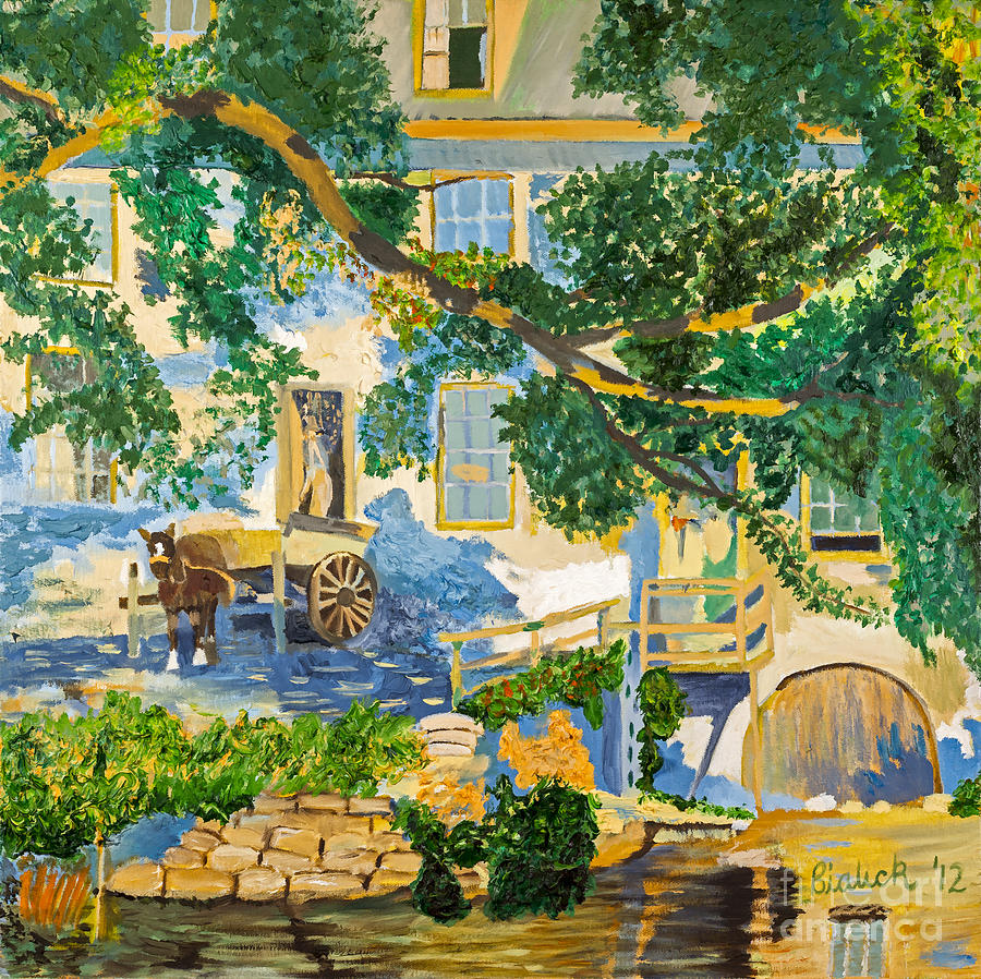 South Painting - Southern Life By Stan Bialick by Sheldon Kralstein