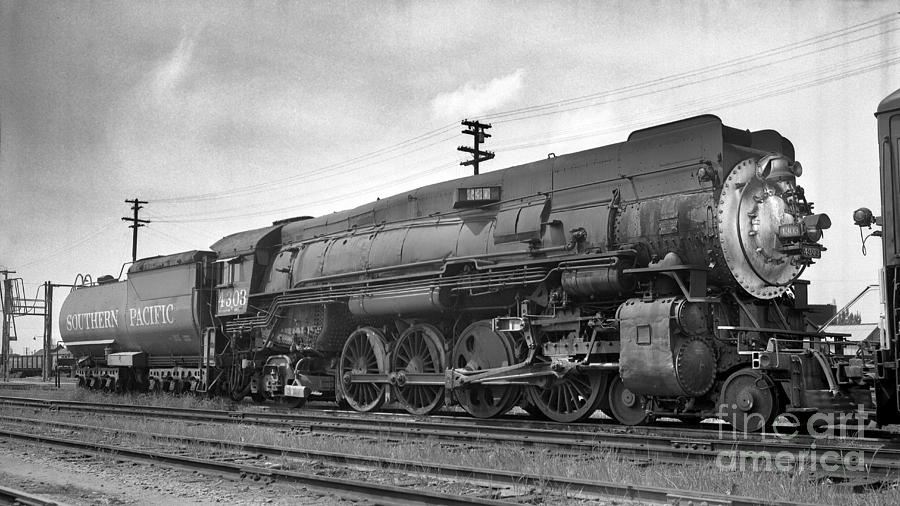 Southern Pacific Sp 4303 Mountain Class Steam Locomotive