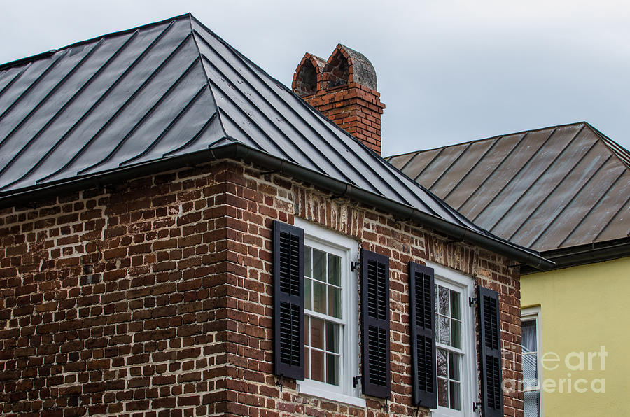 Southern Rooftops Photograph