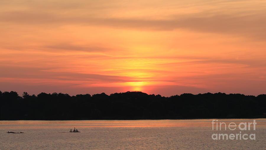 Alabama Photograph - Southern Sunrise by Kimberly Saulsberry