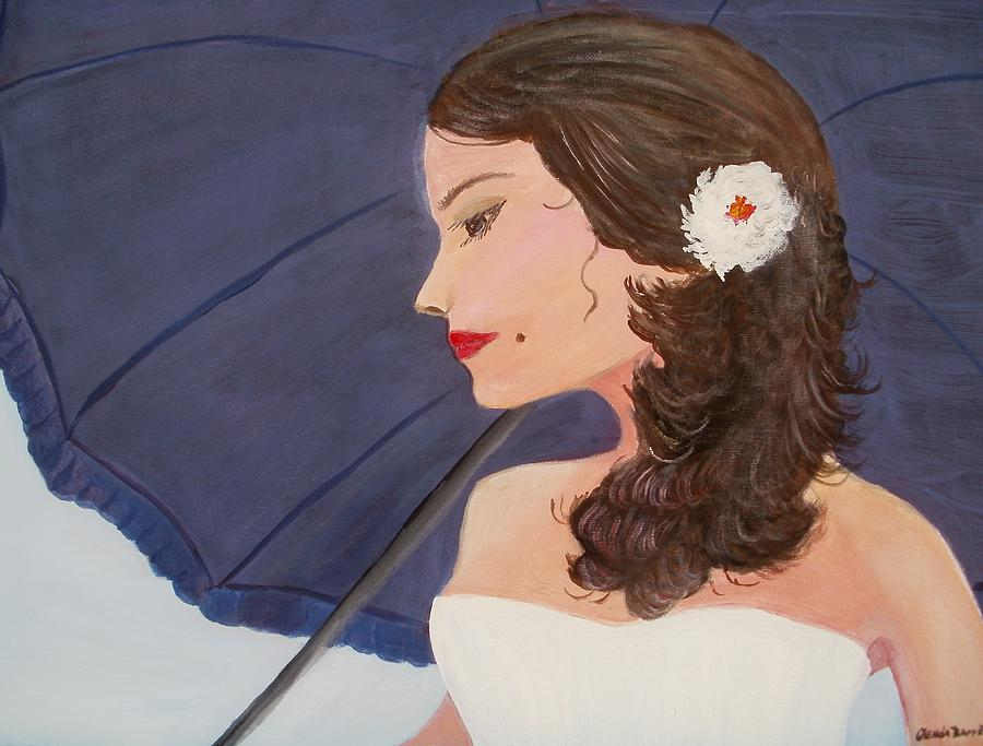 Original Painting - Southern Woman by Glenda Barrett
