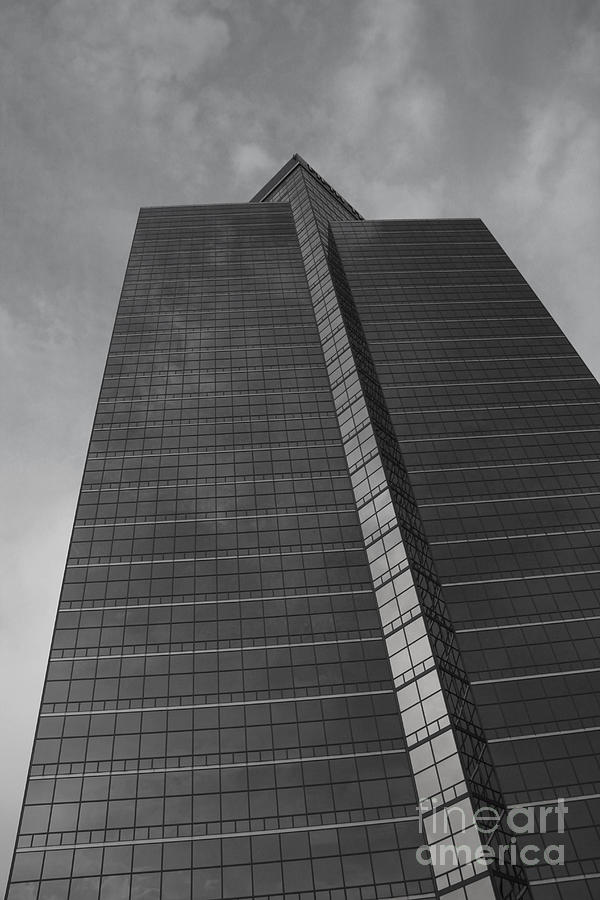 Towe Photograph - Southfield Hi Rise Black And White by Bill Woodstock
