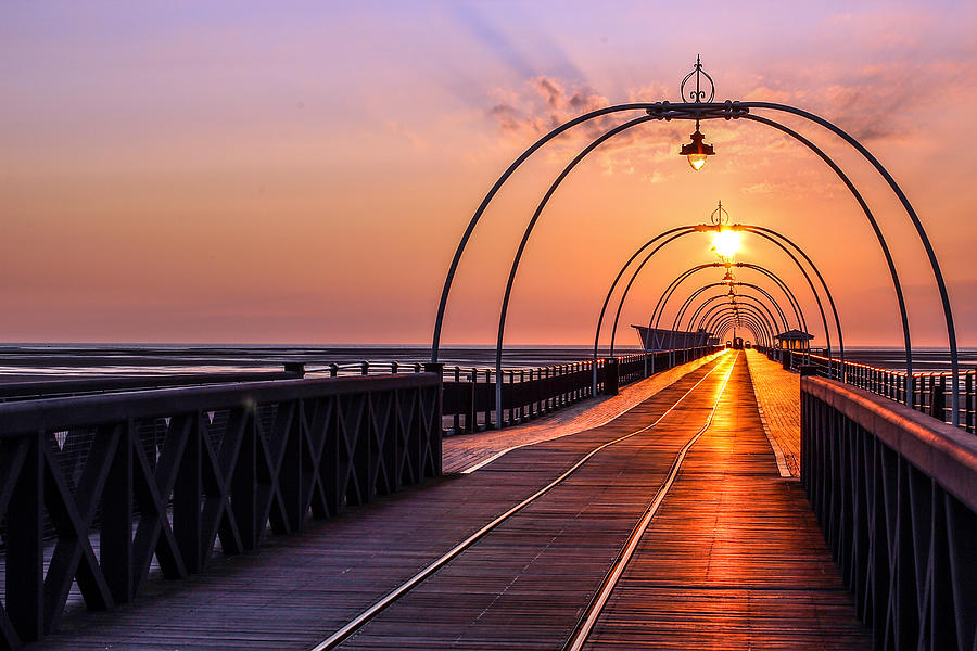 Southport Photograph - Southport Pier by Paul Madden