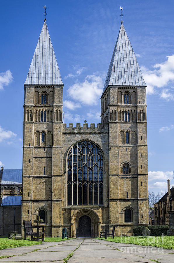 Southwell Minster Photograph - Southwell Minster by Steev Stamford