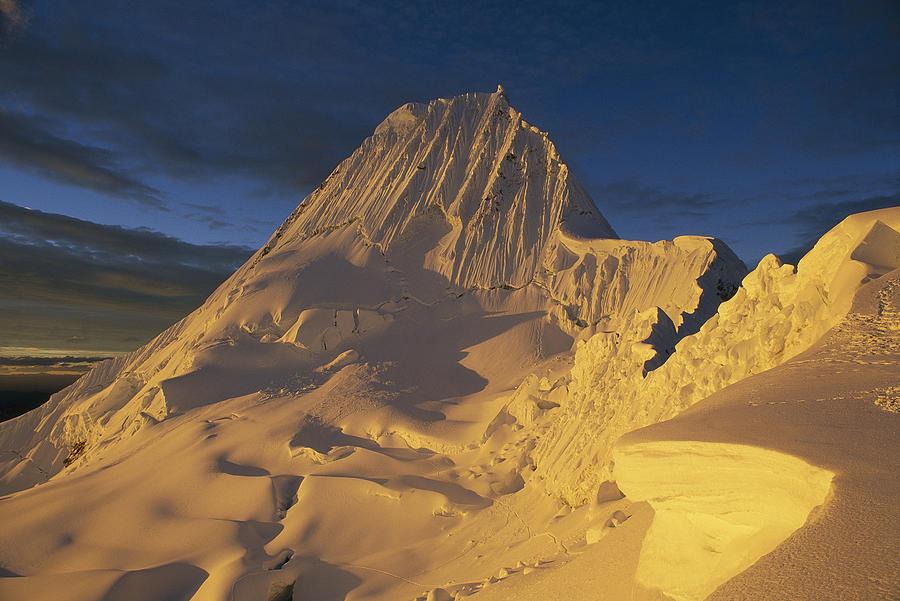 Southwest Face Of Alpamayo Peru Photograph by Grant  Dixon