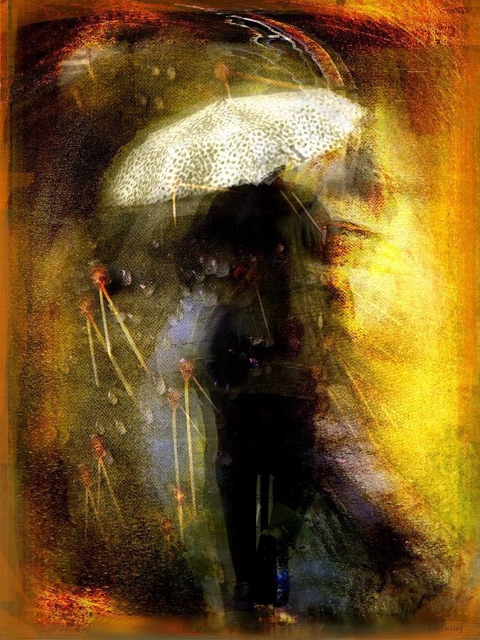 Umbrella Photograph - Southwest Spring by Lin Haring