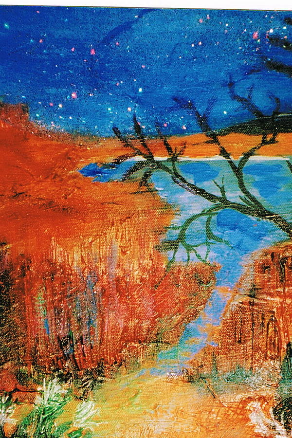 Southwest Painting - Southwestern Image II by Anne-Elizabeth Whiteway