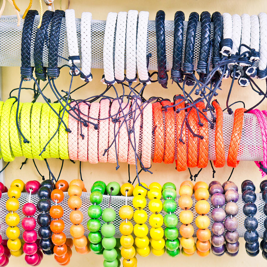 Souvenir Bracelets Photograph