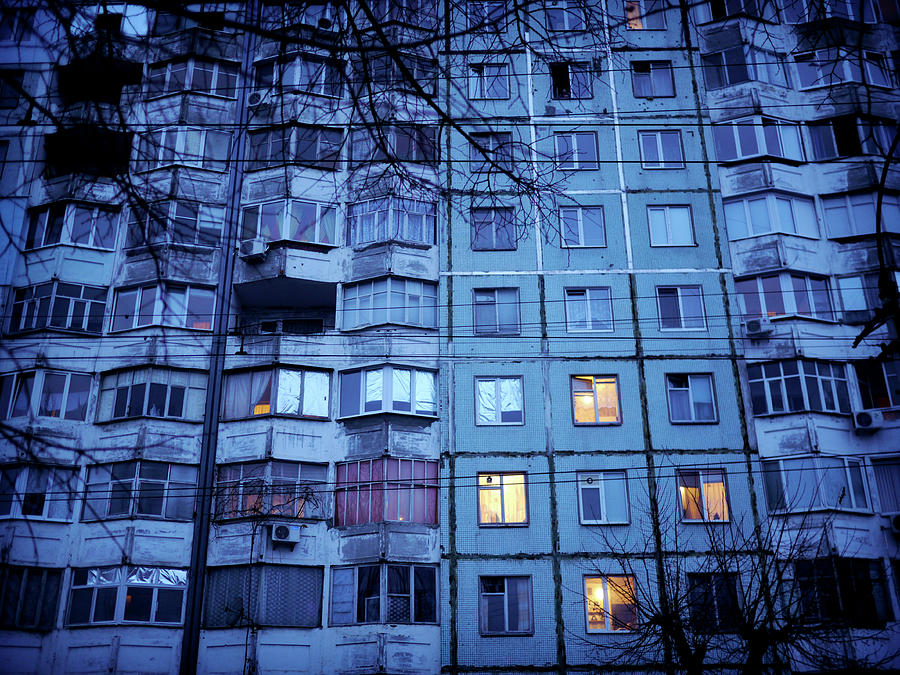Tranquility Photograph - Soviet-era Housing In Transnistria by Amos Chapple