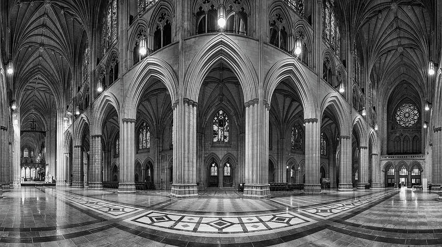 Cathedral Photograph - Space by Christopher Budny